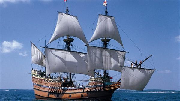 Mayflower Sails- Grand Sail