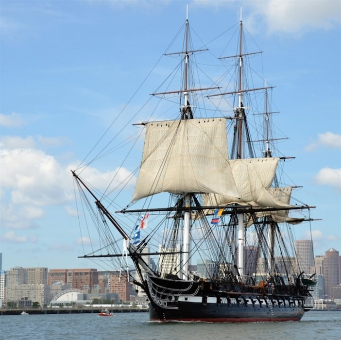 USS Constitution Turn Around Cruise