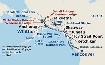 Alaska Cruise-Tour with Princess Cruise
