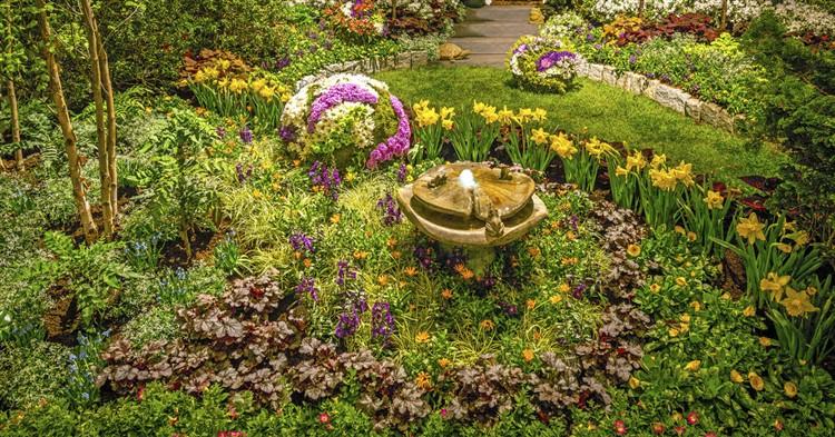 Philadelphia Flower Show, Gardens & Mansions