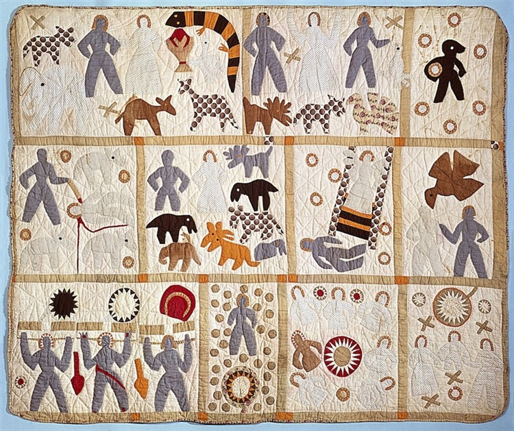 """MFA """"Fabric of a Nation: American Quilt Stories"""""""